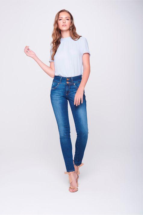 Calca-Cigarrete-Jeans-Cos-Largo-Feminina-Frente--