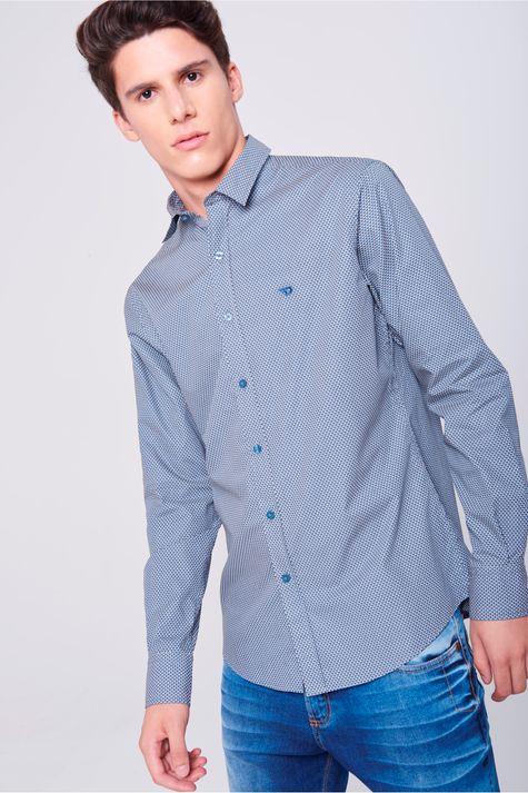 213e0caf2b Moda Masculina - Camisa G AZUL OFF-WHITE – Damyller