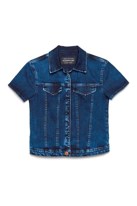Jaqueta-Trucker-Jeans-com-Mangas-Curtas-Frente--