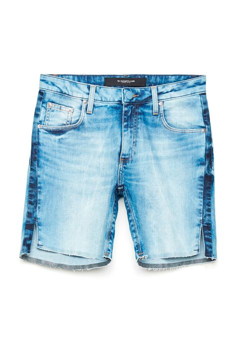 Bermuda-Jeans-Recortes-Laterais-Feminina-Frente--