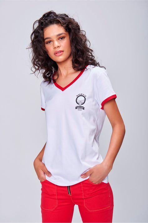 Camiseta-Decote-V-Com-Ribana-Feminina-Frente--