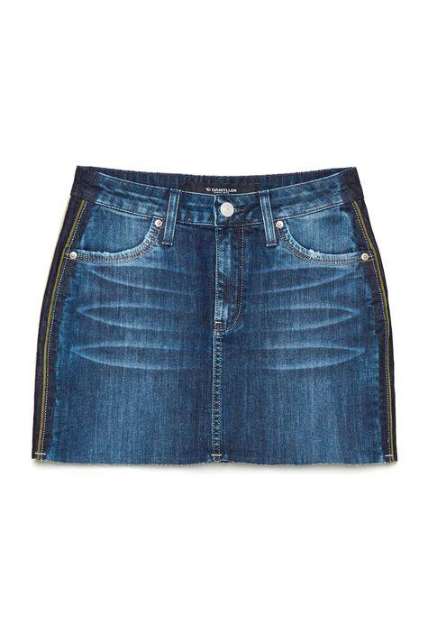 Saia-Jeans-com-Gorguroes-nas-Laterais-Frente--