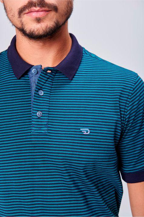 Camisa-Gola-Polo-Listrada-Masculina-Detalhe--