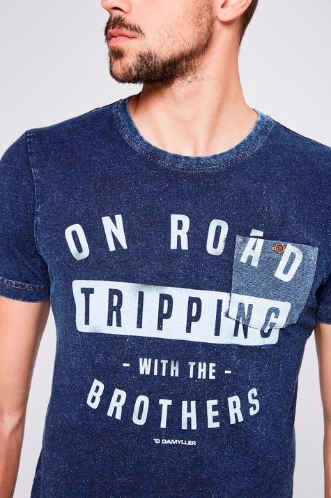 Camiseta-de-Malha-Denim-Masculina-Frente--