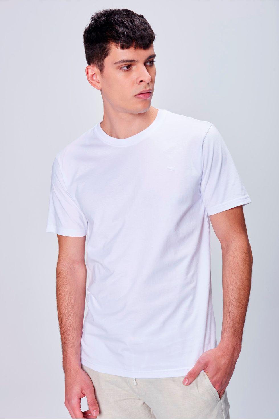 569f6a02b1b0e Camiseta Masculina Básica - Damyller