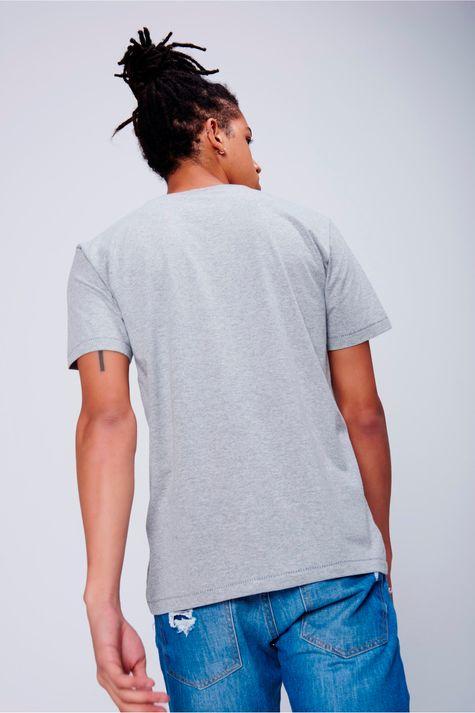 Camiseta-Masculina-Malha-Mescla-Costas--