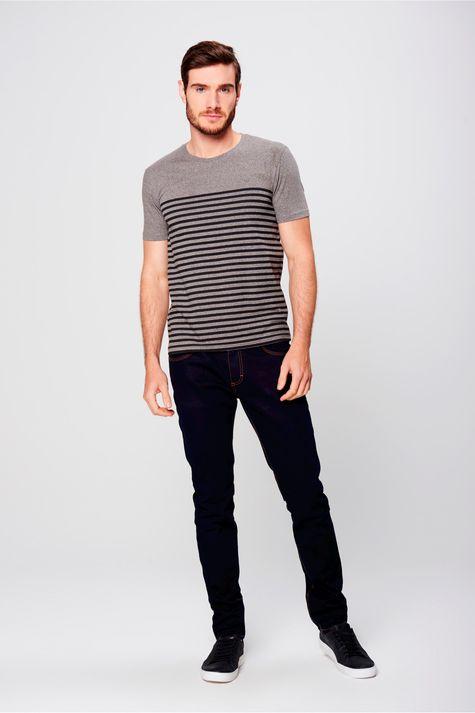 Camiseta-Listrada-Malha-Mescla-Masculina-Frente--