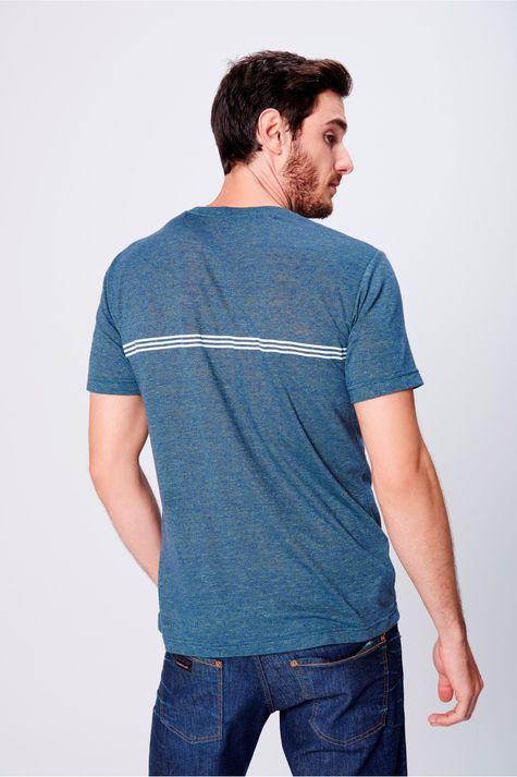 Camiseta-Fit-com-Bolso-Frontal-Masculina-Costas--