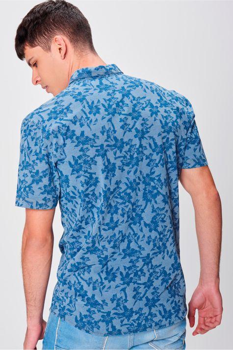 Camisa-com-Estampa-Floral-Masculina-Costas--
