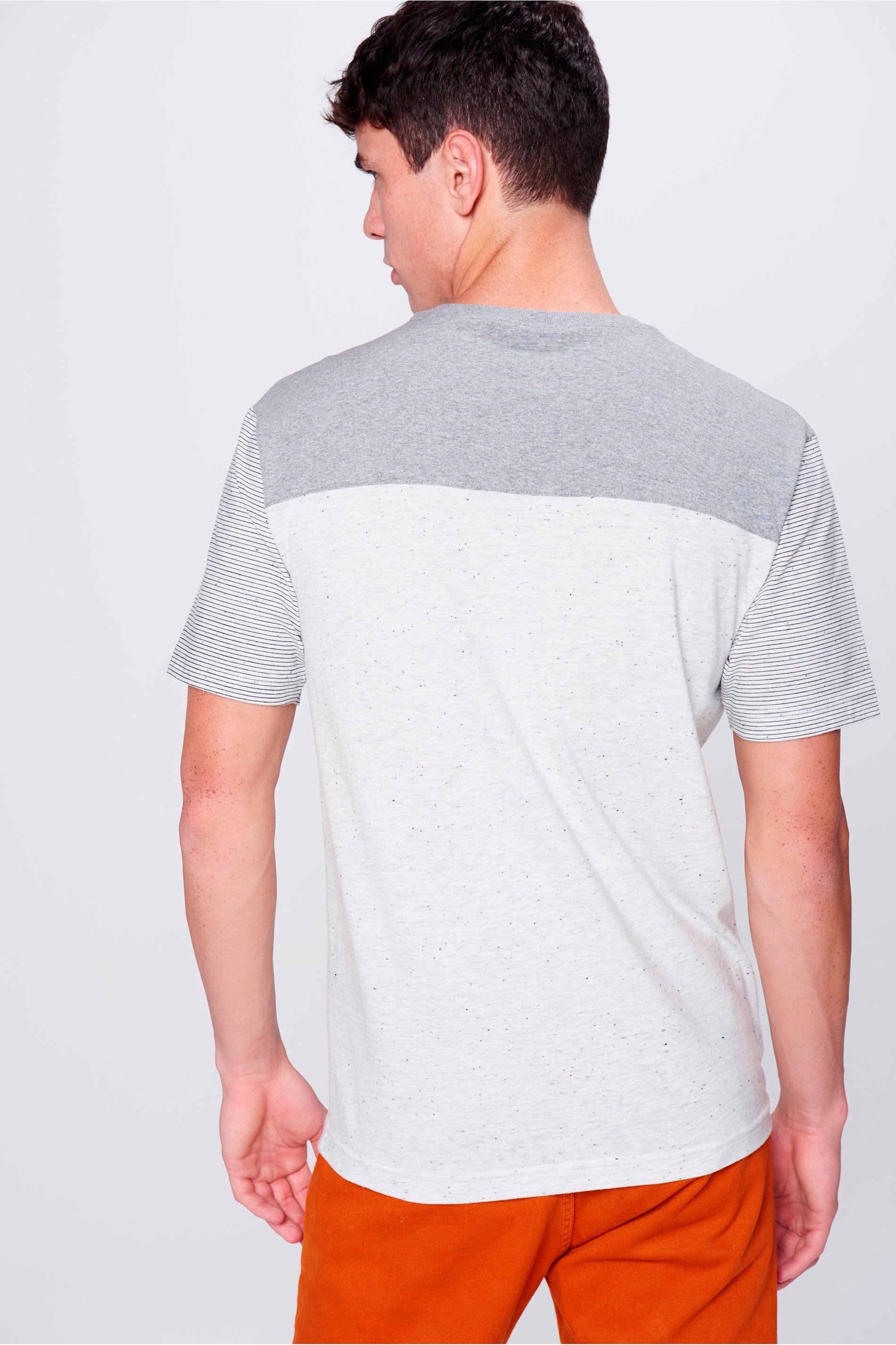 6ff8de2f0 Camiseta Masculina com Recorte - Damyller