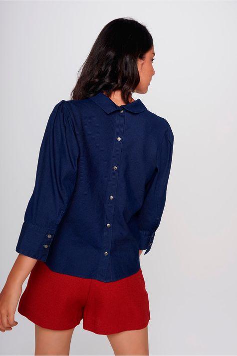 Blusa-Jeans-Detalhe-Costas-Feminina-Costas--