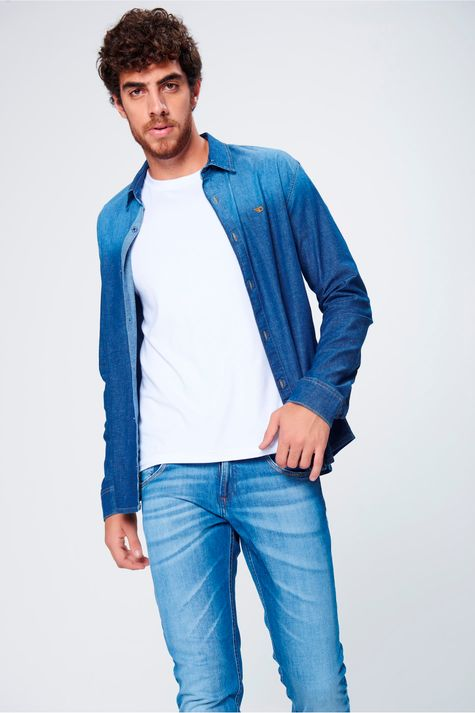 Camisa-Masculina-Jeans-Frente--