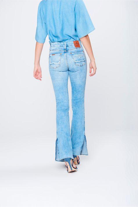 Calca-Boot-Cut-Feminina-Jeans-Destroyed-Costas--
