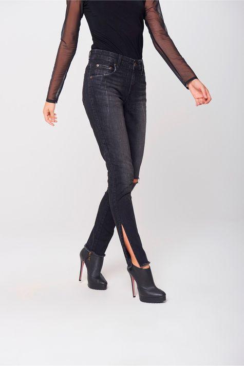 Calca-Cigarrete-Jeans-Destroyed-Black-Lado--