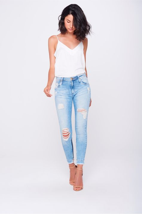 Calca-Jegging-Jeans-Cropped-Destroyed-Frente--