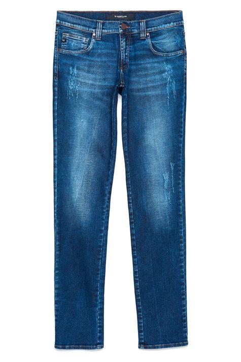 Calca-Skinny-Jeans-com-Puidos-Masculina-Detalhe-Still--