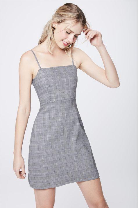 Vestido-Mini-Xadrez-Feminino-Frente--