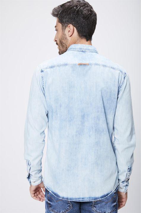 Camisa-Jeans-Claro-Masculina-Costas--