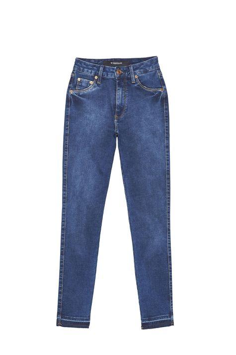 Calca-Jeans-com-Cintura-Alta-Feminina-Detalhe-Still--