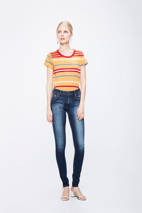 Calca-Jeans-com-Cintura-Media-Feminina-Frente--