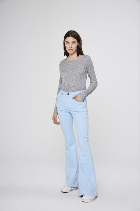 43f68508a Moda Feminina - Calças Azul Claro – Damyller