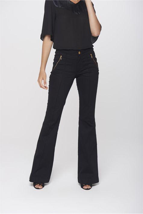 Calca-Boot-Cut-Jeans-Preta-Feminina-Frente-1--
