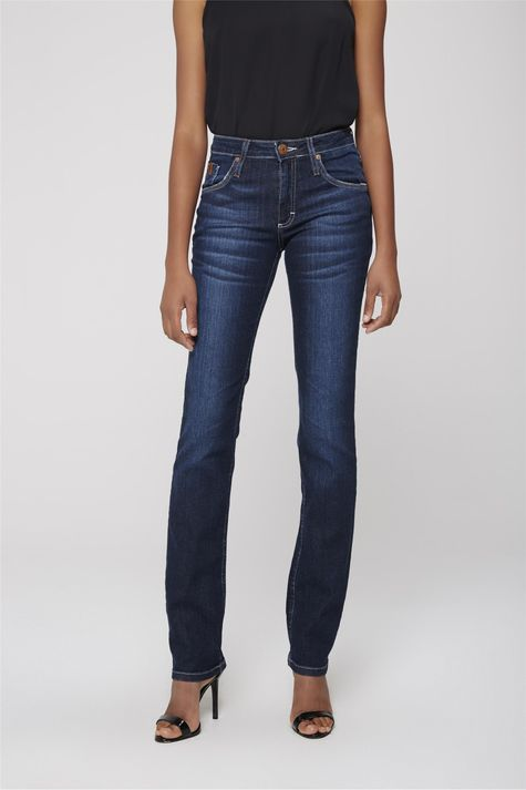 023e611489 ... Calca-Jeans-Reta-Basica-Feminina-Frente-- ...