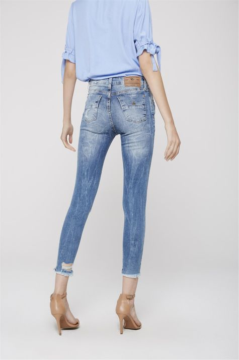 1bc8b5296 ... Calca-Cropped-Jeans-Cintura-Alta-Rasgada-Frente-- ...