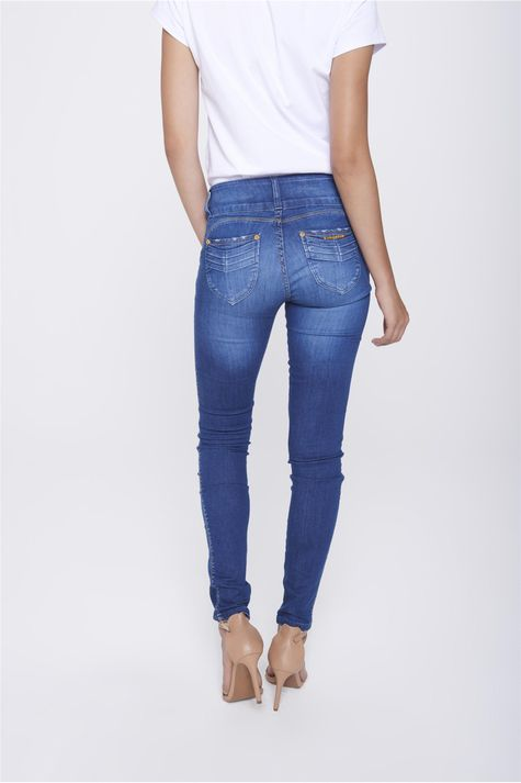 Calca-Jegging-Jeans-com-Cos-Largo-Costas--