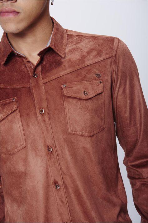 Camisa-Suede-Masculina-Detalhe--
