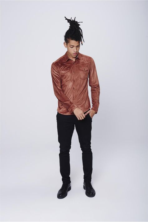 Camisa-Suede-Masculina-Detalhe-1--