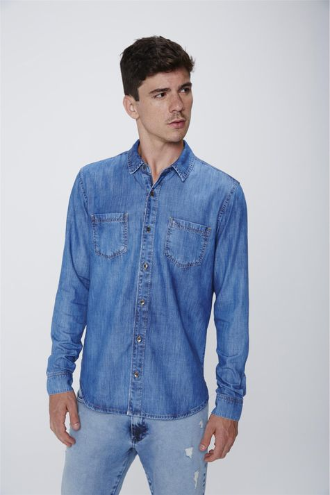 Camisa-Jeans-Masculina-Frente--