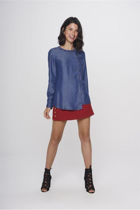 3ea57e8599 ... Camisa-Jeans-Feminina-Frente--