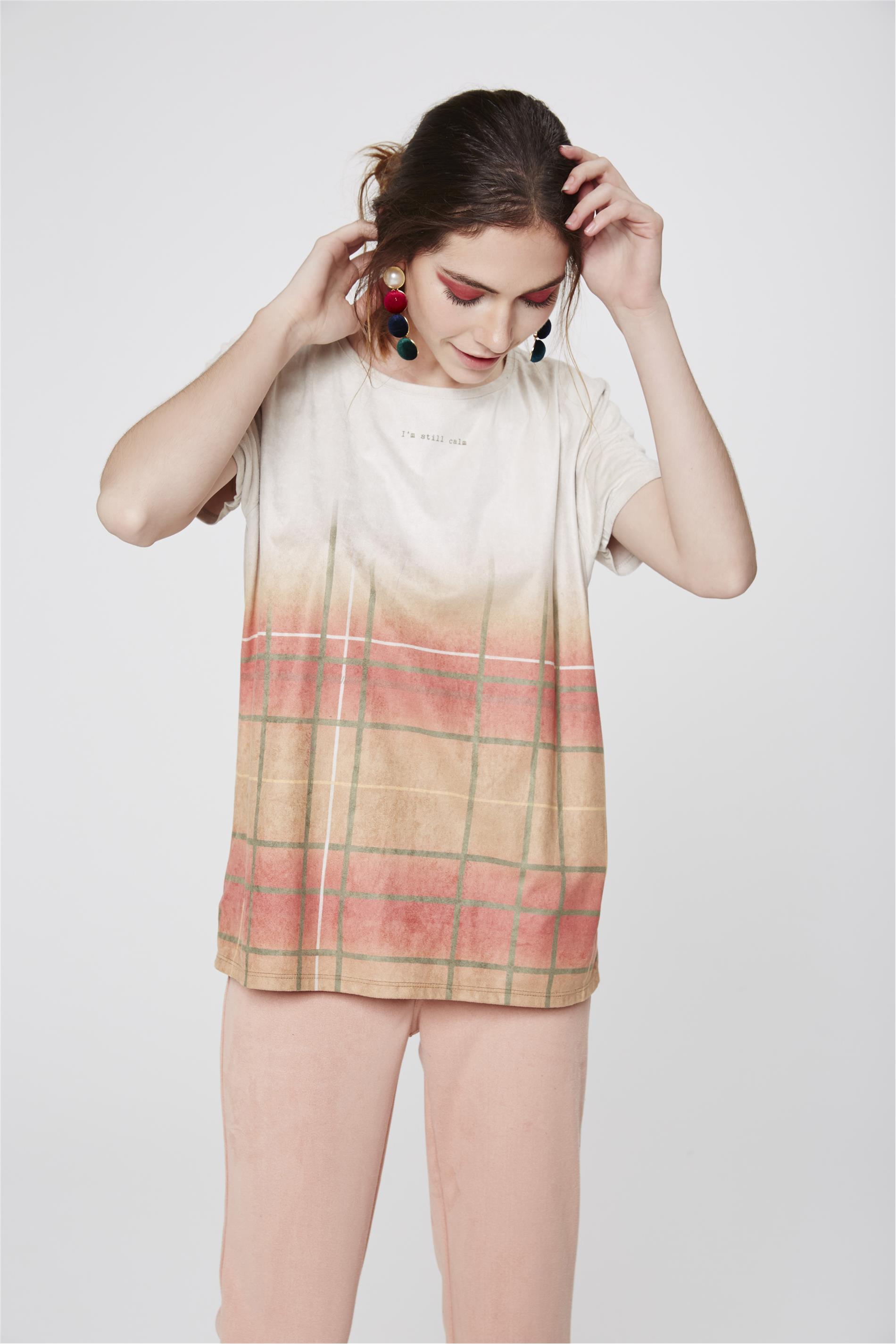 7e9a25385b Camiseta Suede Feminina - Damyller