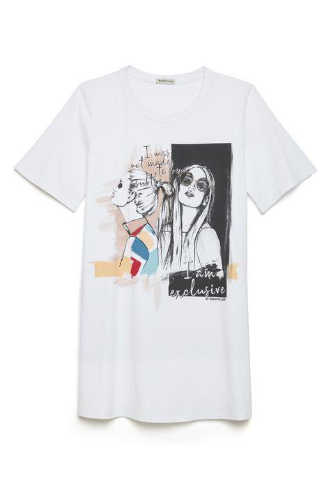 Camiseta-Longa-Feminina-Detalhe-Still--