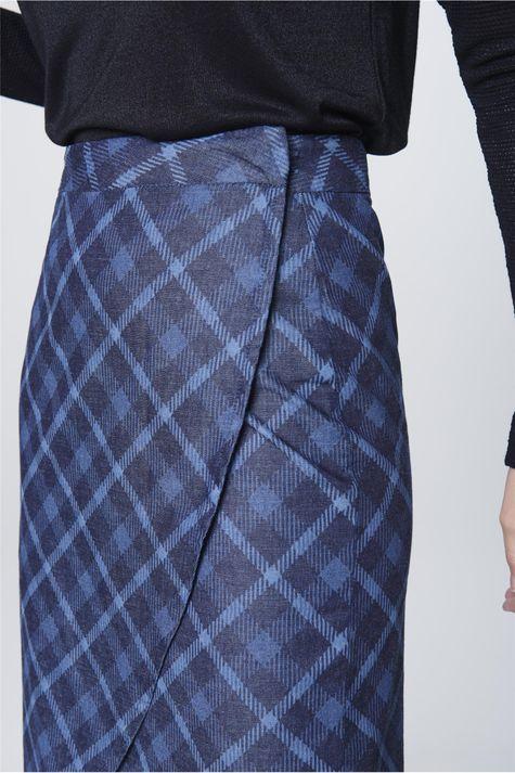 Saia-Jeans-Xadrez-Feminina-Detalhe--