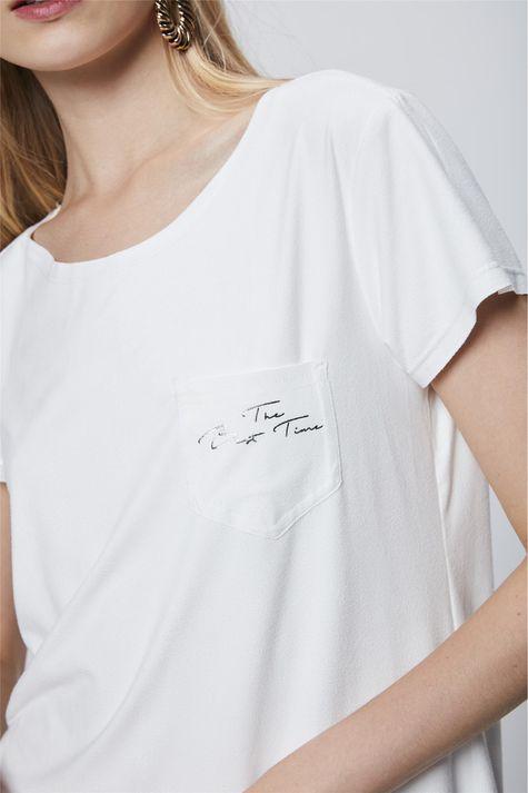 Camiseta-Suede-Feminina-Detalhe--