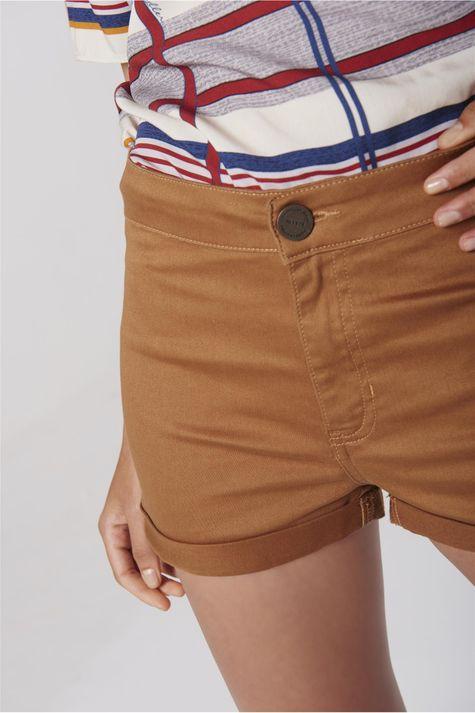 Shorts-Color-Cintura-Alta-Feminino-Detalhe--