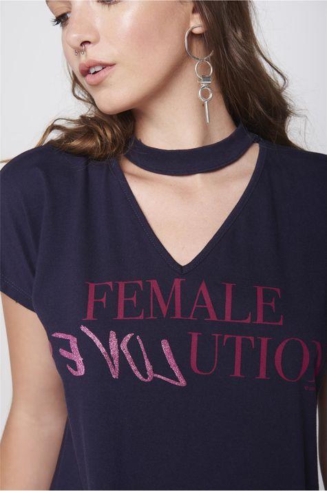 Blusa-Decote-Vazado-Feminina-Detalhe--