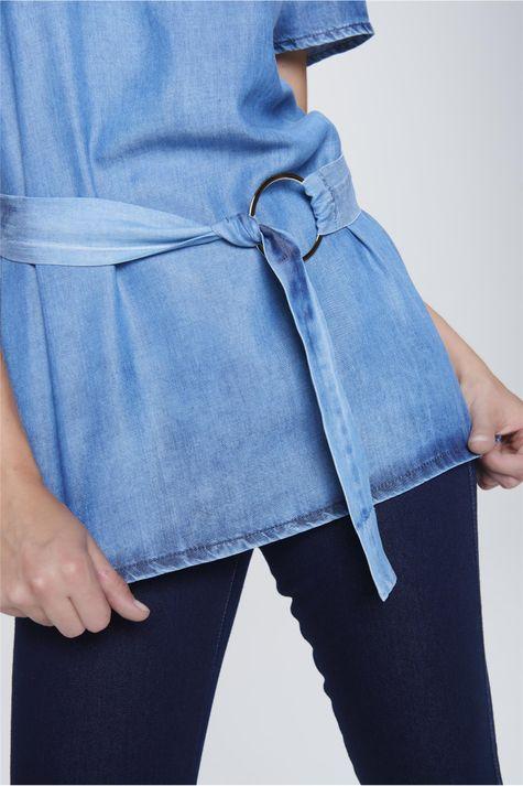 e40b58b888 ... Blusa-Jeans-com-Cinto-Feminina-Frente-- ...