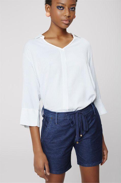 Bermuda-Jeans-Jogger-Feminina-Frente--