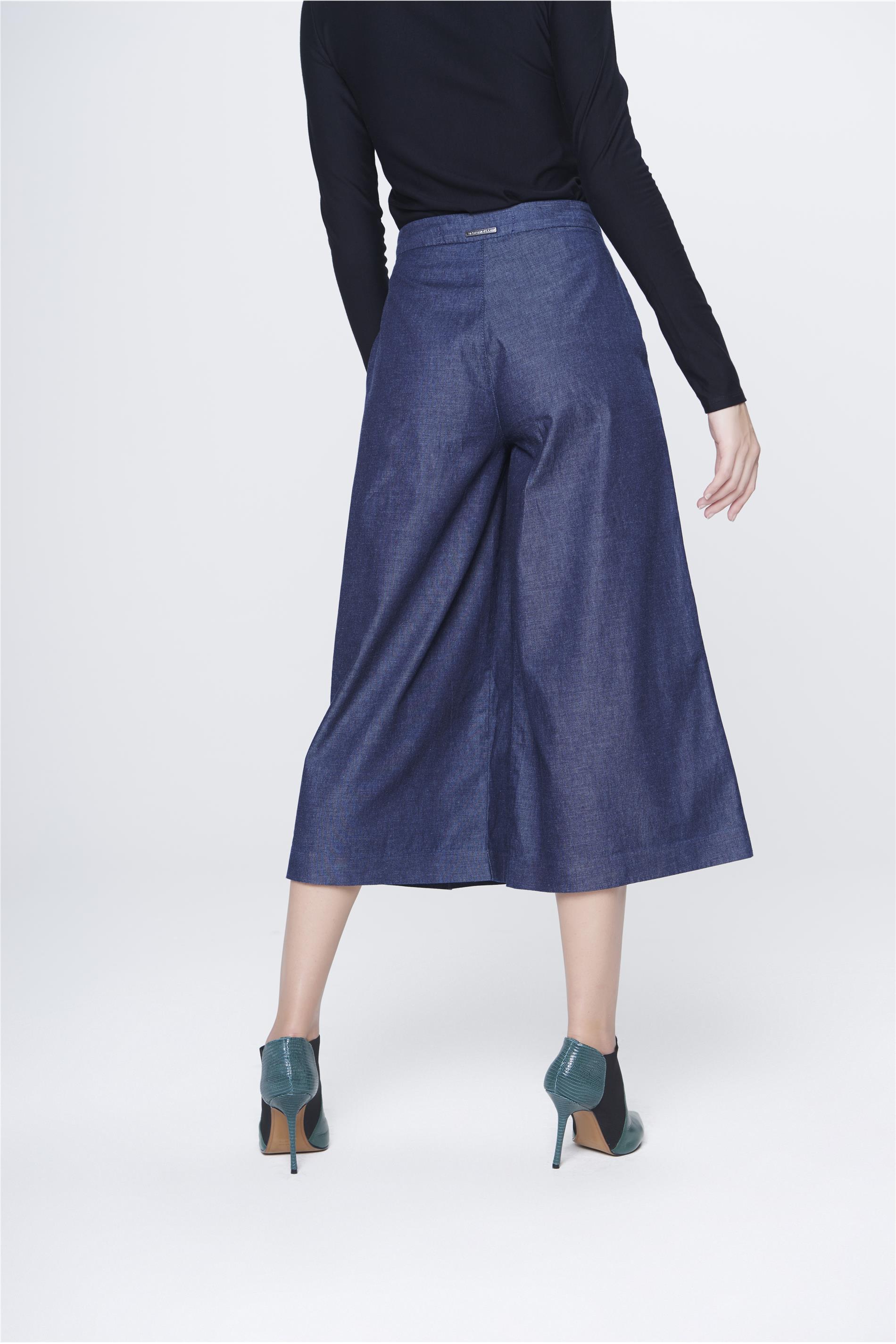 a5bdad5a0 Calça Jeans Pantacourt Feminina - Damyller