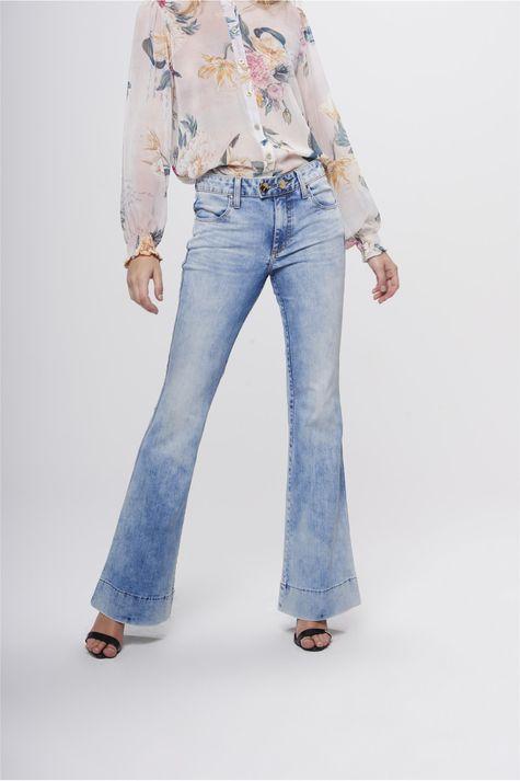 Calca-Boot-Cut-Jeans-Feminina-Estonada-Frente-1--