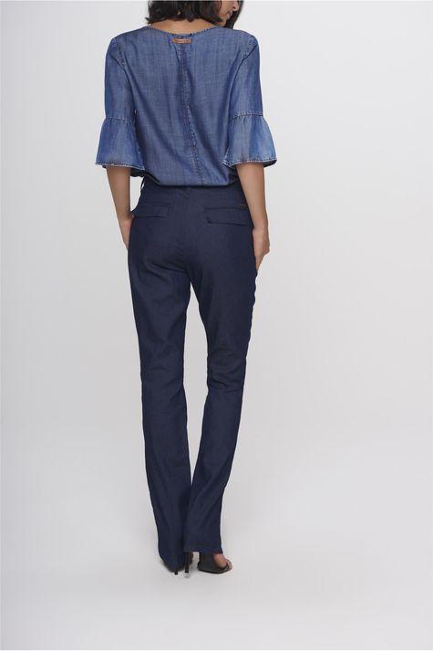 dfa6ac513 ... Calca-Jeans-Reta-de-Alfaiataria-Feminina-Frente-- ...