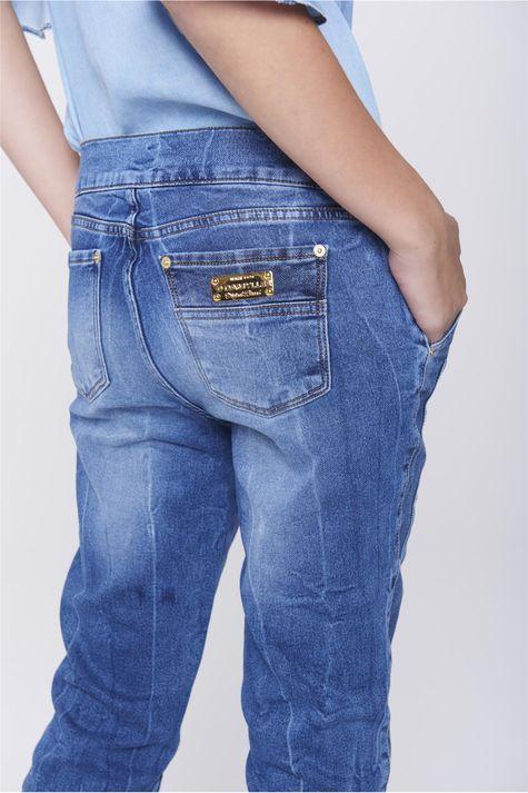Calca-Jogger-Jeans-com-Ziper-Lateral-Detalhe--