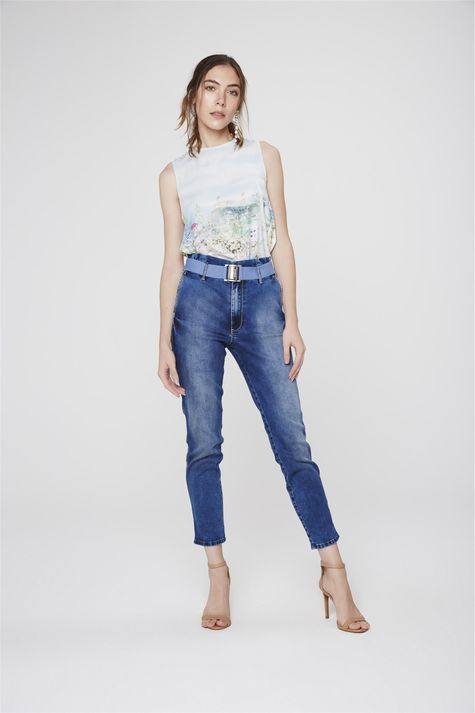 Calca-Jeans-Cropped-Clochard-com-Cinto-Frente--