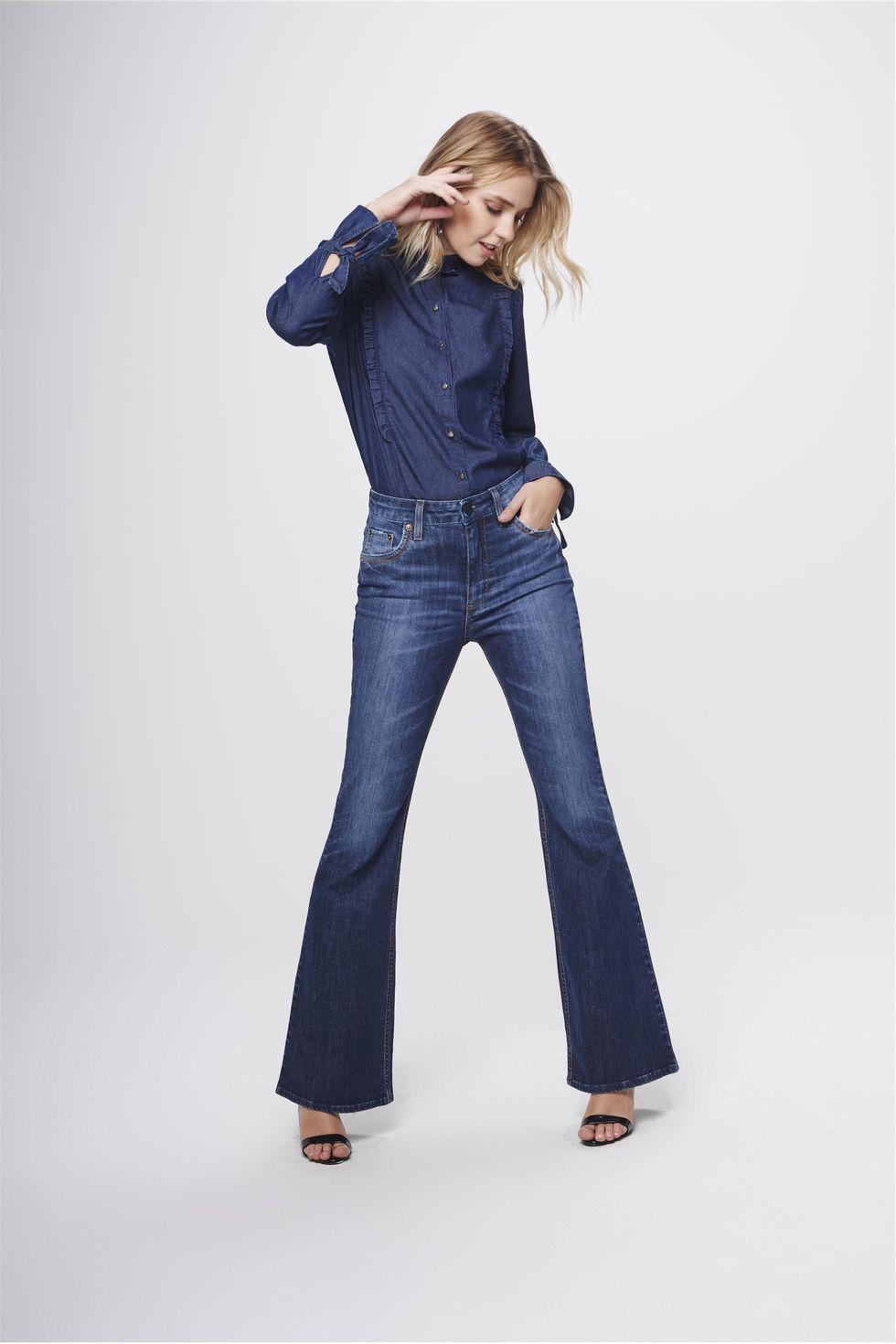 Calca-Boot-Cut-Jeans-com-Cintura-Alta-Frente--