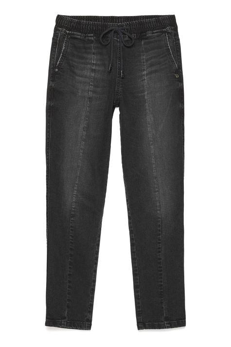 Calca-Jogger-Jeans-Preta-Feminina-Detalhe-Still--