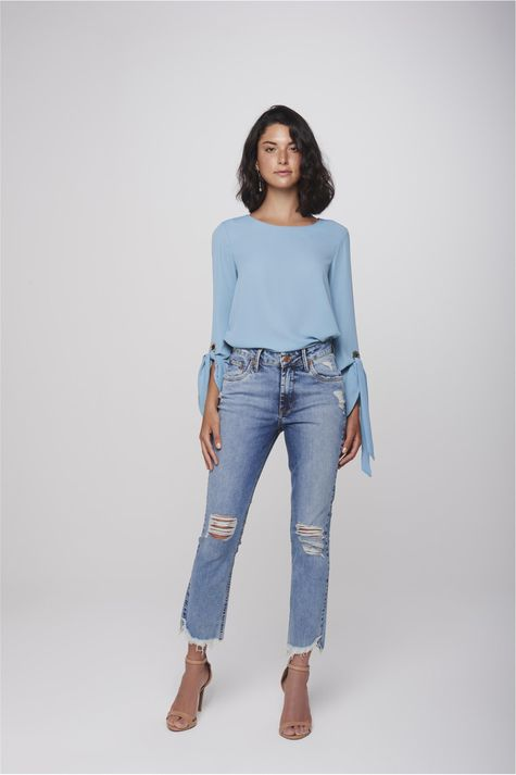 Calca-Cropped-Jeans-Destroyed-Feminina-Frente--