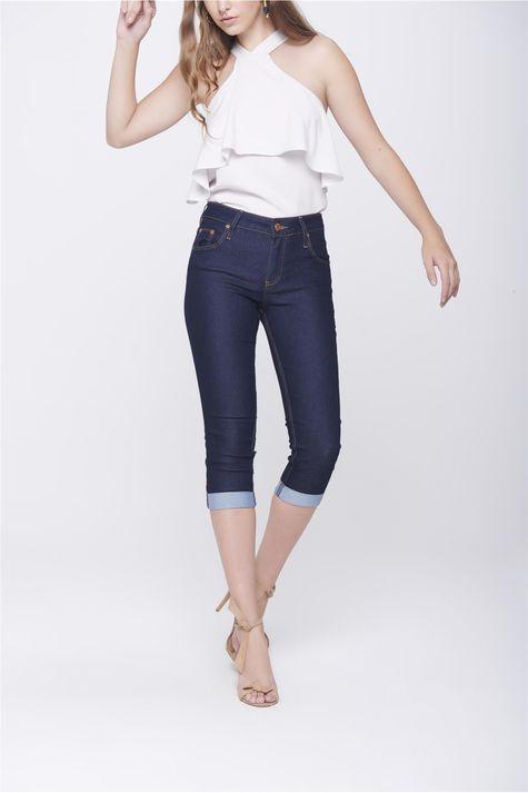 Calca-Capri-Jeans-Feminina-Barra-Dobrada-Frente-1--
